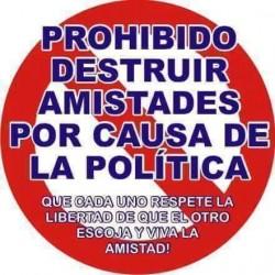 politicayamistad